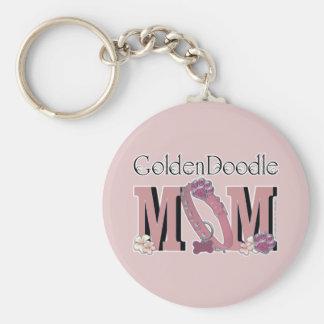 GoldenDoodle MOM Key Ring