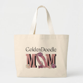 GoldenDoodle MOM Large Tote Bag