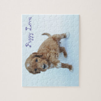 Goldendoodle Puppy Jigsaw Puzzle