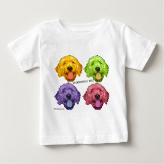 Goldendoodles Rule 4 color Baby T-Shirt