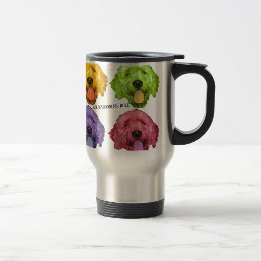 Goldendoodles Rule 4 color Mug
