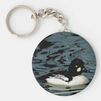 Goldeneye Duck Key Ring