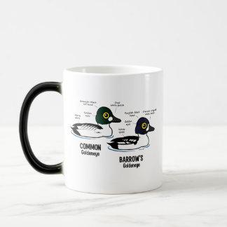 Goldeneye vs Goldeneye Morphing Mug