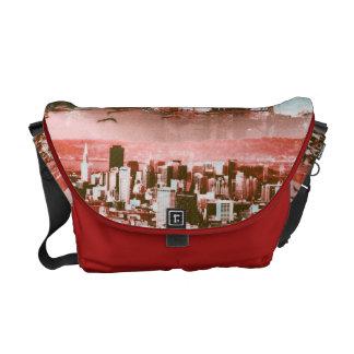 GoldengateBridge SanFrancisco Iconic Panel of Life Messenger Bags