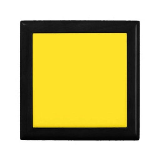 Goldenrod Yellow Keepsake Boxes