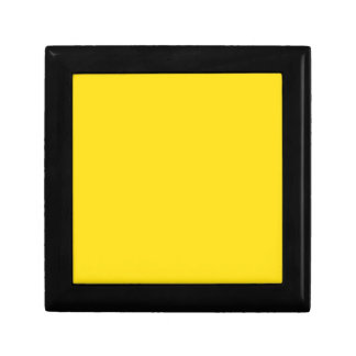 Goldenrod Yellow Small Square Gift Box