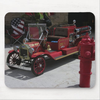 Goldfield bitty fire truck mouse mat