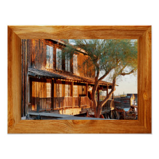 Goldfield Old West Town - Street Scene Poster
