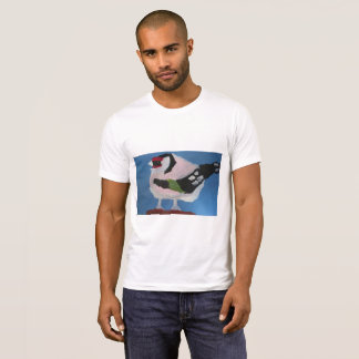 Goldfinch bird abstract lovely painting T-Shirt