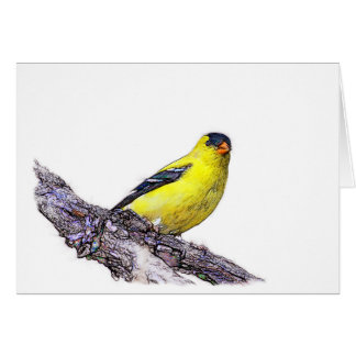 Goldfinch Card