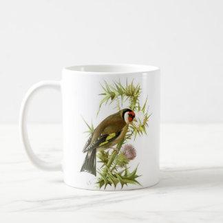 Goldfinch Basic White Mug