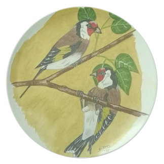 Goldfinch Plate