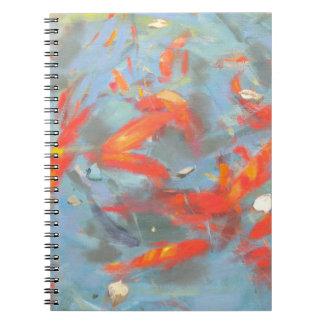 Goldfish 2010 2 notebooks