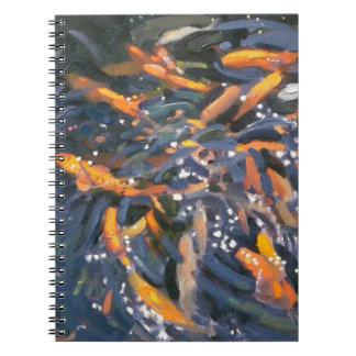 Goldfish 2010 spiral notebook