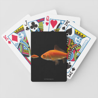 Goldfish 3 bicycle playing cards