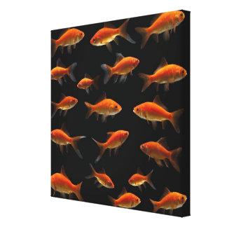 Goldfish 3 canvas print
