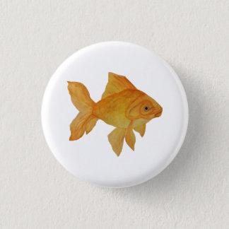 Goldfish 3 Cm Round Badge