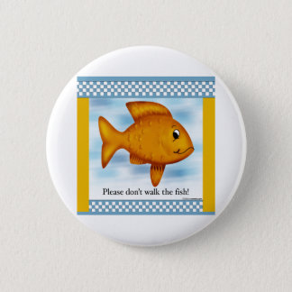 Goldfish 6 Cm Round Badge