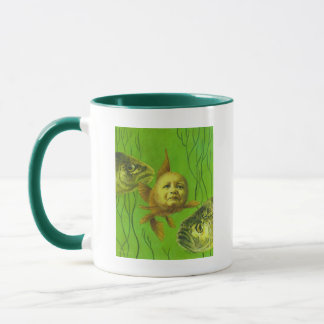 Goldfish Baby Mutant Design Mug
