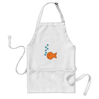 Goldfish Bubbles Standard Apron