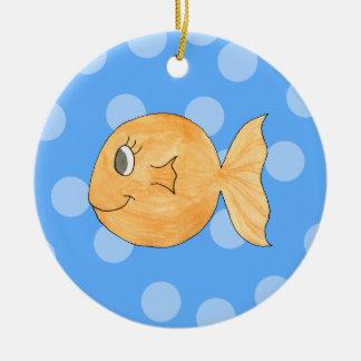 Goldfish. Christmas Ornament