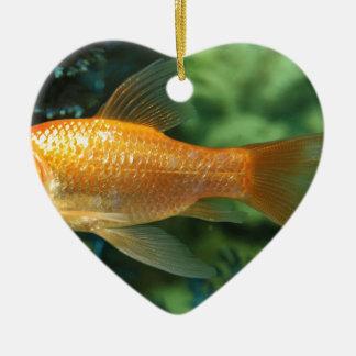 Goldfish Christmas Ornament