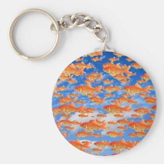 Goldfish Heaven Key Ring