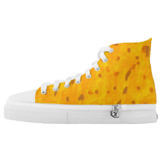 Goldfish High Tops Printed Shoes