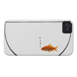 Goldfish in bowl iPhone 4 cover