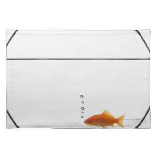 Goldfish in bowl placemat