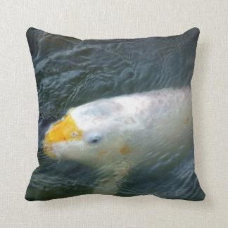Goldfish In Lake Cushion