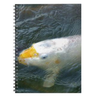 Goldfish In Lake Notebook