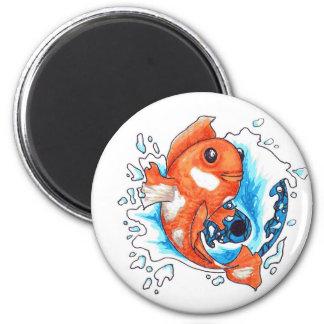 Goldfish in Ying Yang Magnets