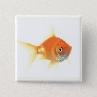 Goldfish Keychain 15 Cm Square Badge