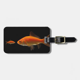 Goldfish Luggage Tag