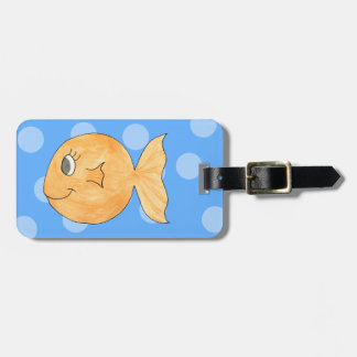 Goldfish. Luggage Tag