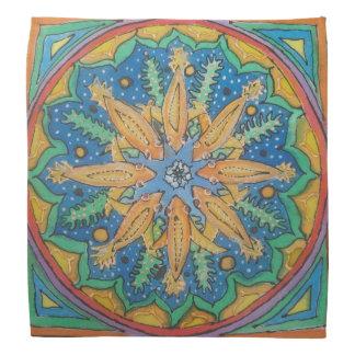 Goldfish Mandala Do-rag