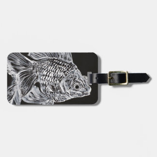 goldfish Mick Luggage Tag