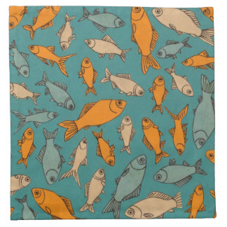 Goldfish Napkin