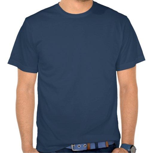 Goldfish On Blue Stripes Tee Shirt