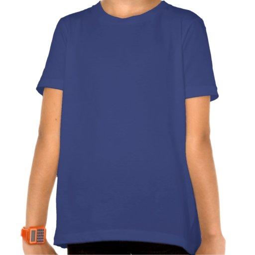 Goldfish On Blue Stripes Shirts