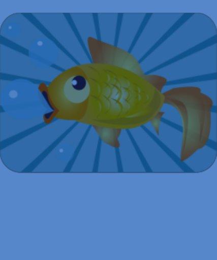 Goldfish On Blue Stripes Tee Shirts