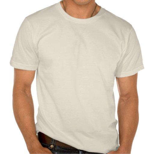 Goldfish On Blue Stripes T-shirts