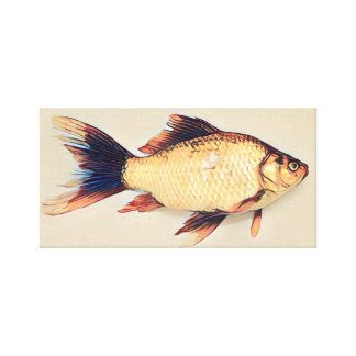Goldfish Painting Canvas Print