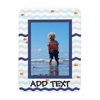 Goldfish Personalized Photo Magnet