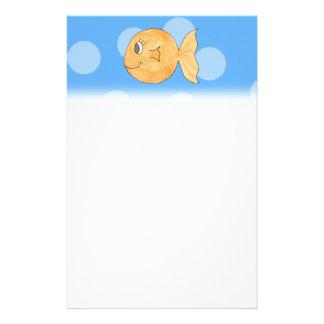 Goldfish. Stationery
