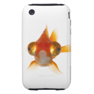 Goldfish with Big eyes 2 Tough iPhone 3 Cases