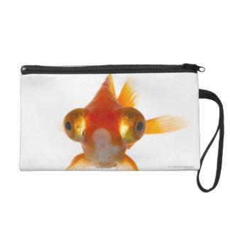Goldfish with Big eyes 2 Wristlet
