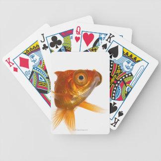 Goldfish with Big eyes 3 Poker Deck