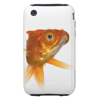 Goldfish with Big eyes 3 Tough iPhone 3 Covers